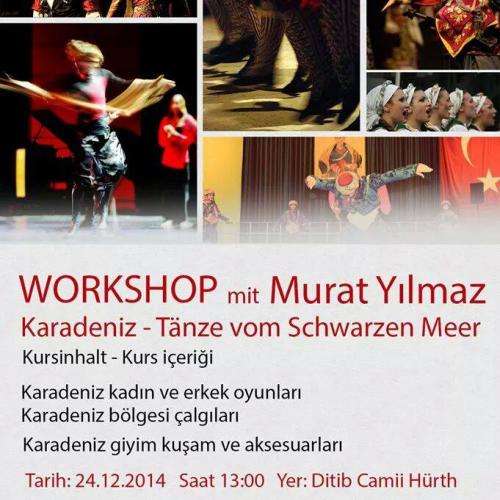 Murat Yilmaz Workshop